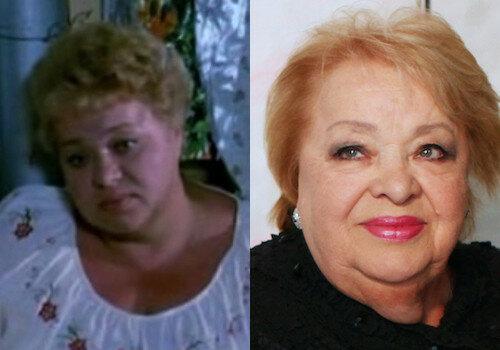 Наталья Крачковская (1938 - 2016) актеры, время, известные, изменились, прошло