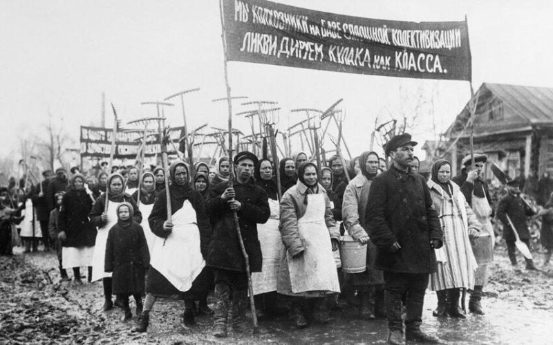 Коллективизация,1930 год значимые, исторические факты, особенные, редкие, события. фото