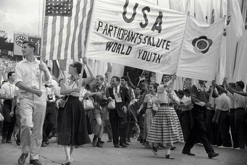 VI Всемирный фестиваль молодежи и студентов в Москве, 1957 год значимые, исторические факты, особенные, редкие, события. фото