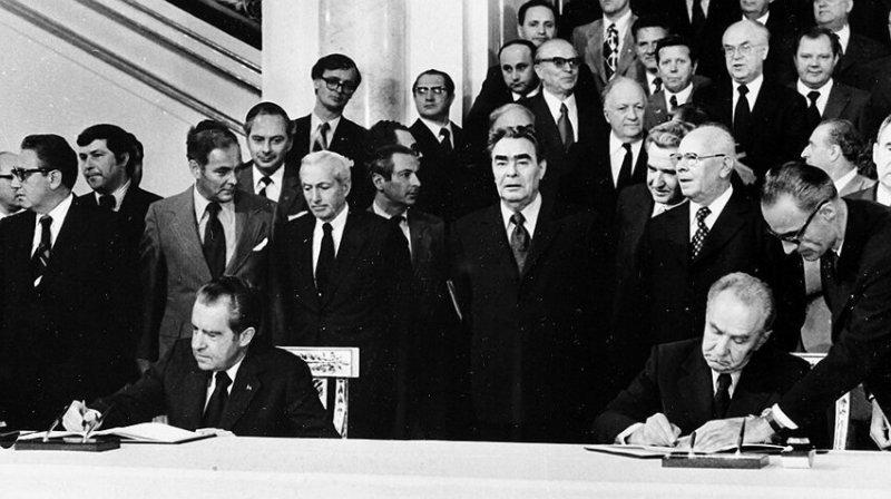 Подписание в Москве «Основ взаимоотношений между СССР и США», 26 мая 1972  года значимые, исторические факты, особенные, редкие, события. фото