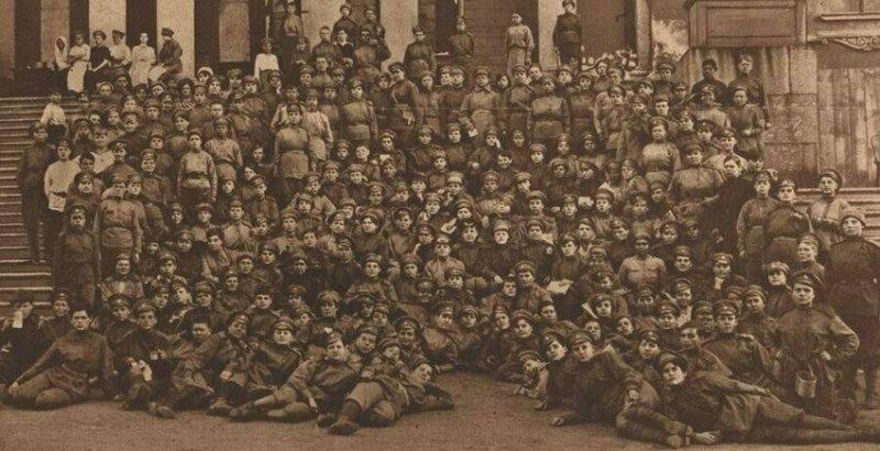 Женский батальон смерти... значимые, исторические факты, особенные, редкие, события. фото