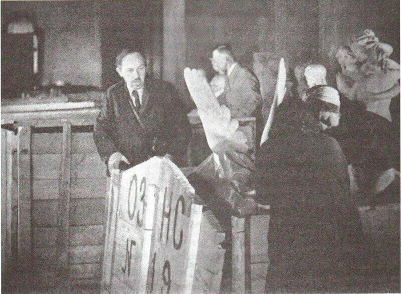 Упаковка сокровищ Эрмитажа, 1941 год значимые, исторические факты, особенные, редкие, события. фото