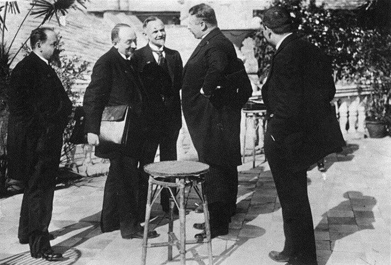 Рапалльский договор - политическое признание Германией Советской России, 16 апреля 1922 года. значимые, исторические факты, особенные, редкие, события. фото