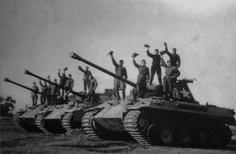 Рота трофейных немецких танков значимые, исторические факты, особенные, редкие, события. фото