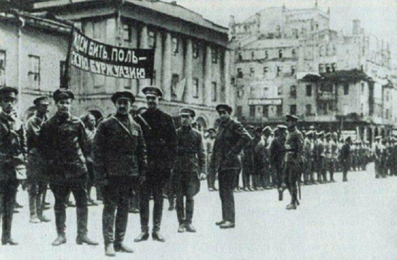 Начало советско-польской войны, 25 апреля 1920 года значимые, исторические факты, особенные, редкие, события. фото