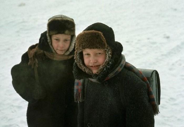 Школьники в Иркутске, 1966 60-е, история, ссср, фото