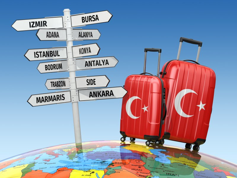 """Турция может """"незначительно"""" подорожать для российских туристов Турция, за границей, отдых, туризм. русские"""