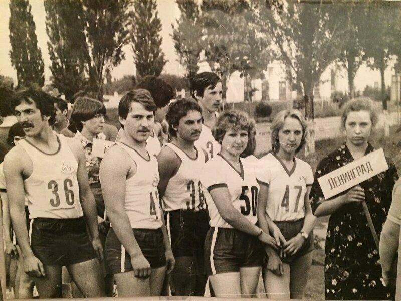 Первенство РСФСР среди учащихся в техникумах. Краснодар, 1978 год