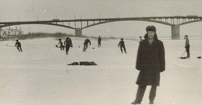 Хоккей на Оке. Горький, 1968 год