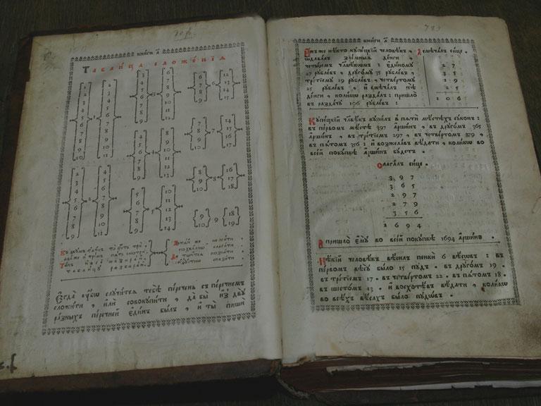 """Первый отечественный учебник по математике - """"Арифметика"""" Леонтия Магницкого"""