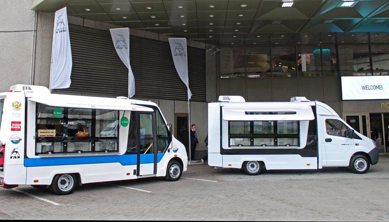 ГАЗ представил новые автомобили для розничной торговли