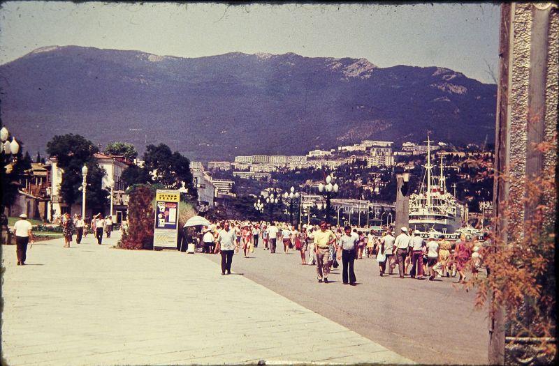 В Крым на отдых: фото полуострова в 70-е годы  Крым, отдых, полуостров, ссср, фото