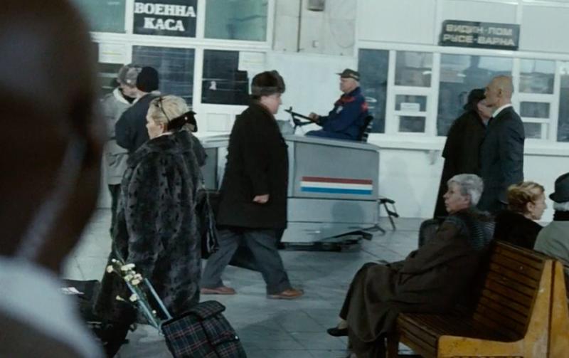 """Хитмэн"" (2007): сотрудники ФСБ в шапках-ушанках..."