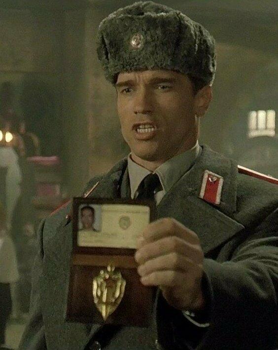"""Красная жара"" (1998): что за документ у героя Арни?"