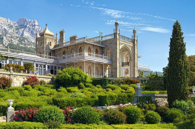Воронцовский дворец: шедевр архитектуры романтизма