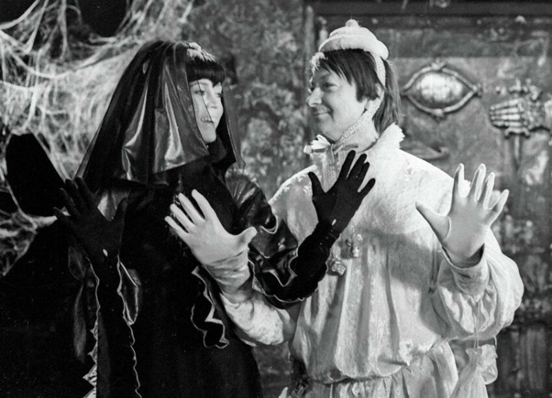 Джейн Фонда и Георгий Вицин, 1975 год