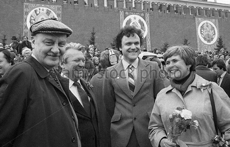 Лев Кулиджанов и Николай Еременко, 1982 год