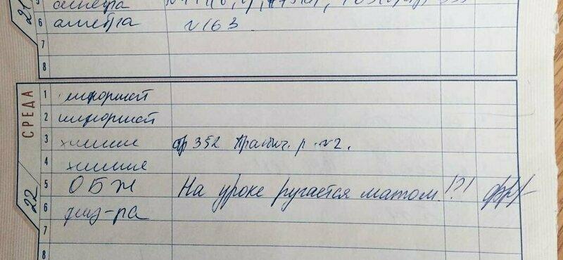 «Пел, хрюкал, танцевал»: шикарные замечания из школьных дневников