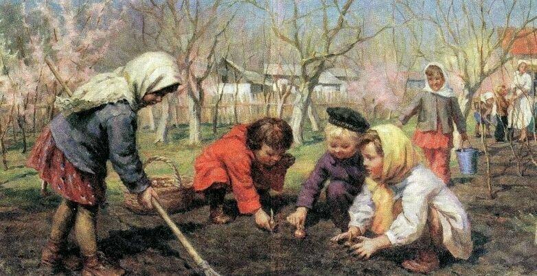 """""""Весна пришла"""", А. Бортников"""