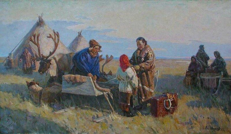 """""""На далеком Севере"""", В. Игошев"""