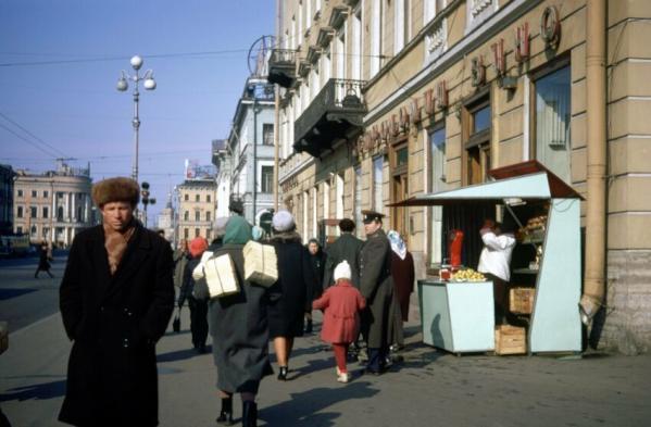 В Ленинграде, 1960-е история, союз, ссср, фото, эпоха