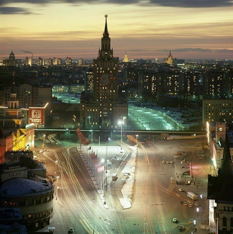 Площадь трёх вокзалов в Москве, 1978 год история, союз, ссср, фото, эпоха