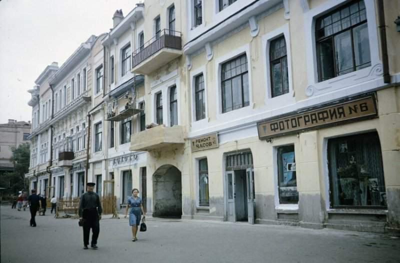 В Хабаровске, 1959 год история, союз, ссср, фото, эпоха