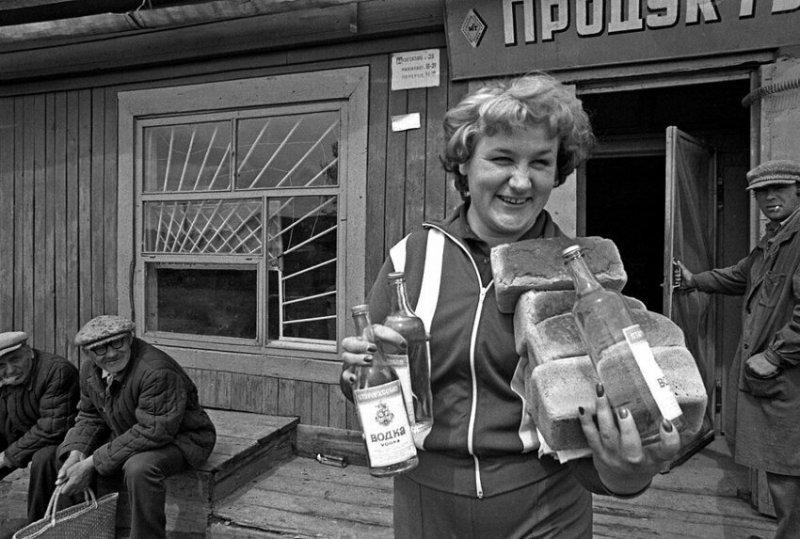 У магазина, Челябинск, 1988 год история, союз, ссср, фото, эпоха