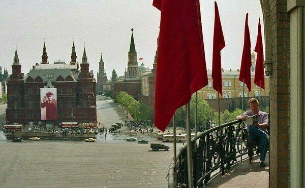 Подборка уникальных кадров про СССР