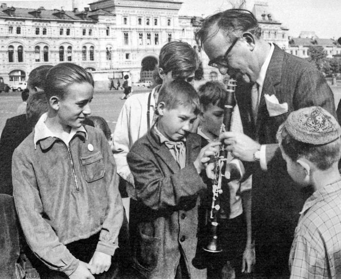 Бенни Гудме, 1962 год, Москва