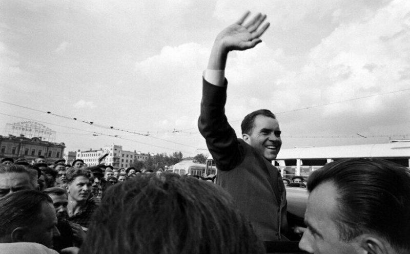 Ричард Никсон в Свердловске, 1959 год