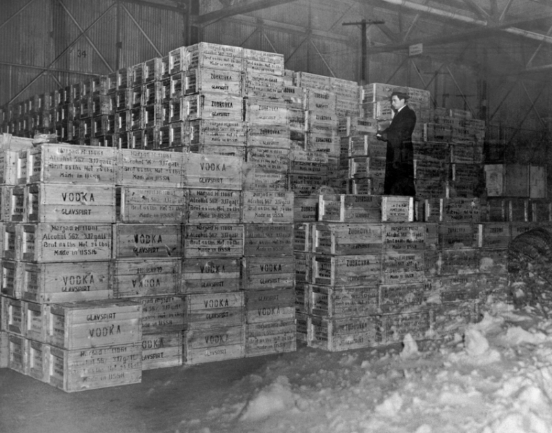 Первая партия водки из СССР в США, 1934 год, Нью–Йорк