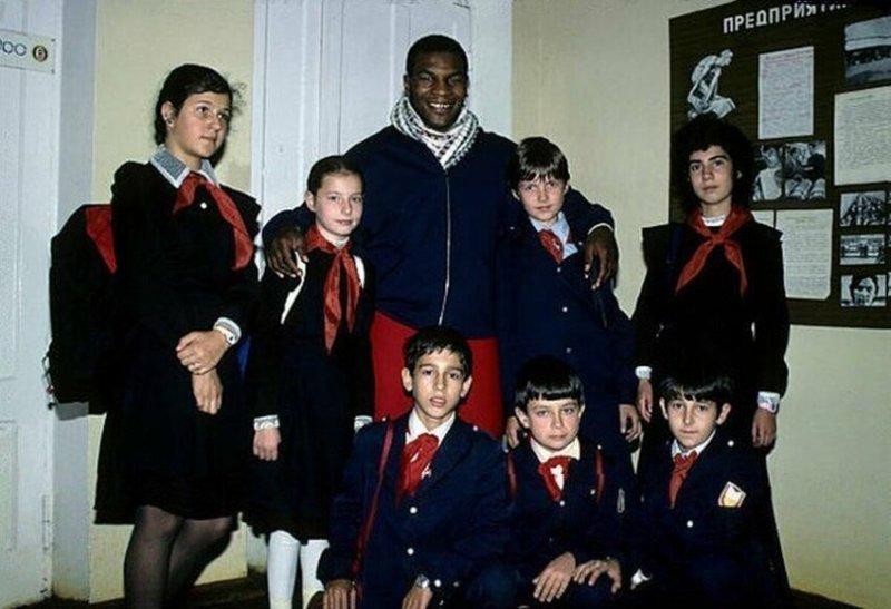 Школьники и Майк Тайсон, 1988 год