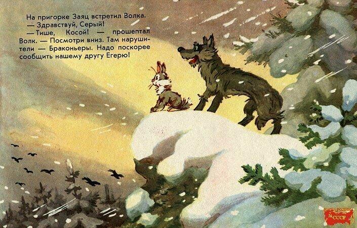 """Добрые воспоминания: детская книга: """"Случай в заповеднике"""""""