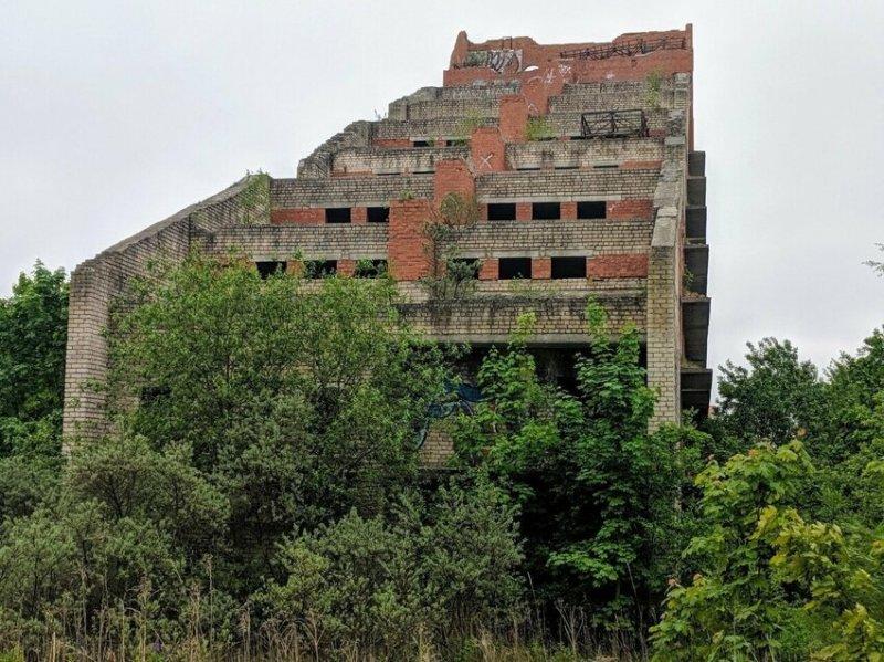Пансионат-недострой, Калининградская область