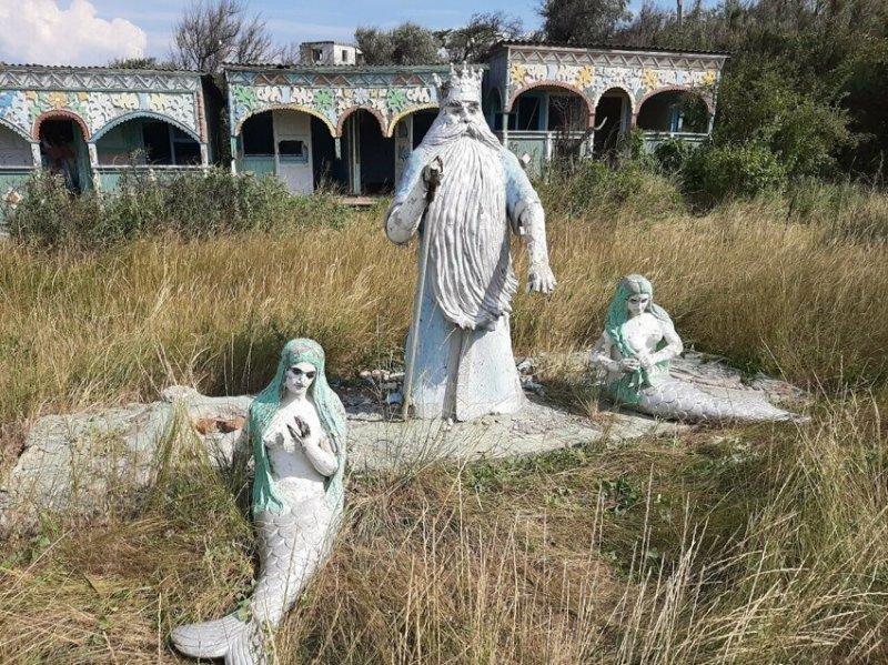 """Санаторий """"Прибой"""", неподалеку от Крымского моста"""