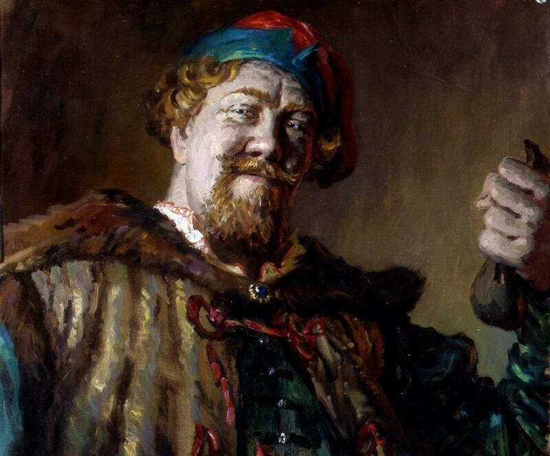 Русские люди на исторических портретах Сергея Кириллова