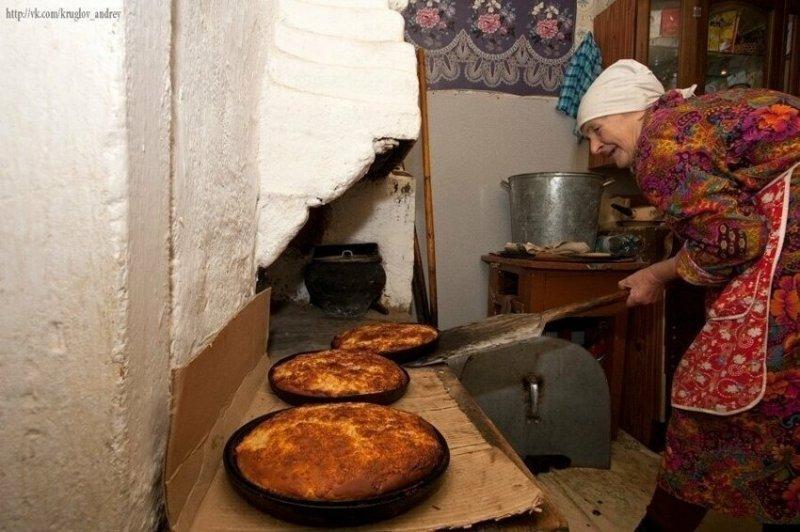 На деревне у бабушки: трогательные снимки, вызывающие ностальгию