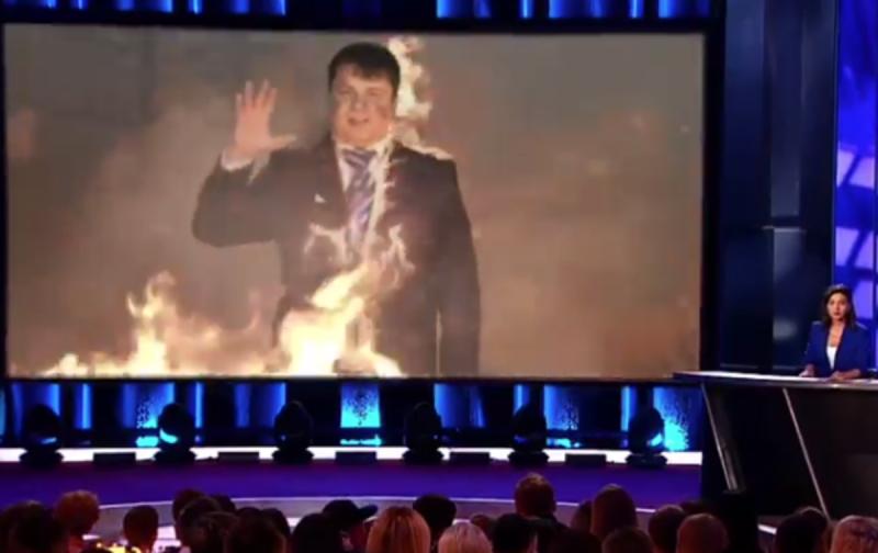 «Максимум одна сосна горит»: пародия на российское ТВ восхитила пользователей
