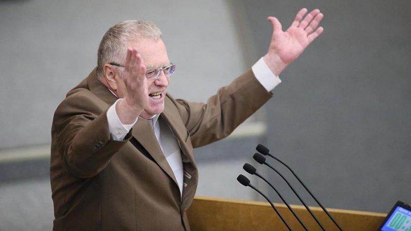 Жириновский мечтает про объединение России, Белоруссии и Украины