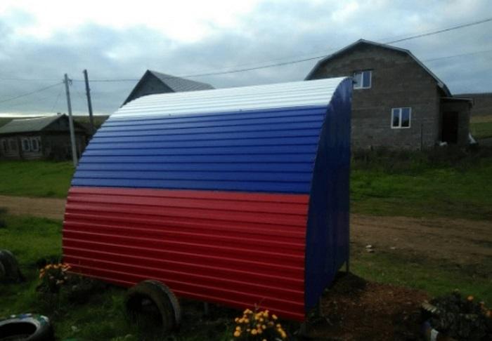 В башкирском селе состоялось торжественное открытие остановки