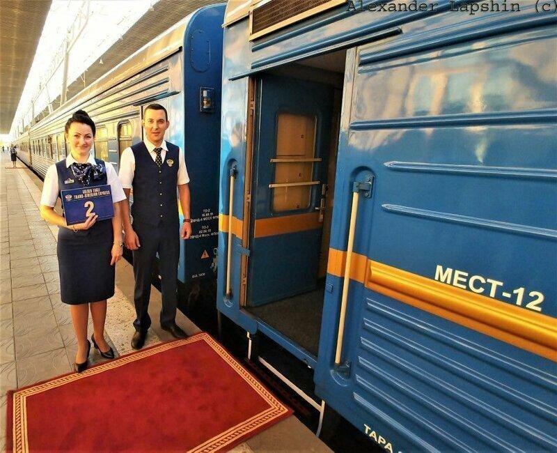 Эксклюзивные фото российского поезда