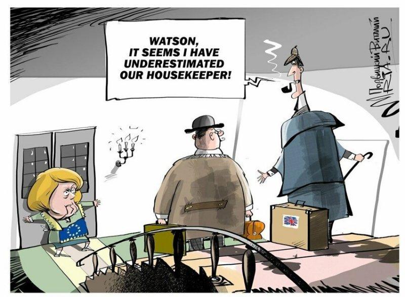 Ирония и сарказм в карикатурах Виталия Подвицкого