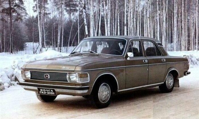 """Не пошедшая в серию """"Волга"""" 1975 года"""