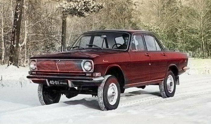 Полноприводной ГАЗ-2495, 1973 год