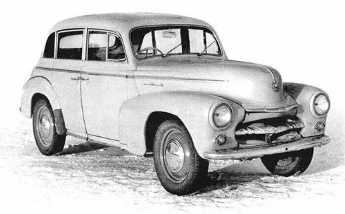 Москвич 424 забракованный в 1948 году