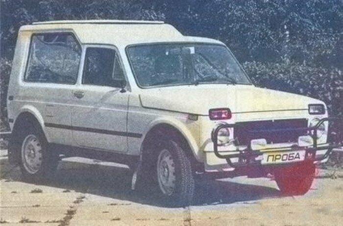 Нива-Сахара, 1991 год