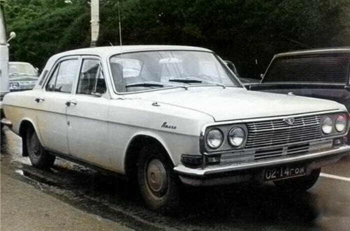 """Первый вариант 24-й """"Волги"""", 1967 год"""