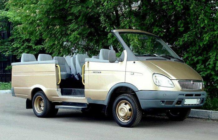 """ГАЗ 2705 """"ГАЗель Кабриолет"""", 2005 год"""