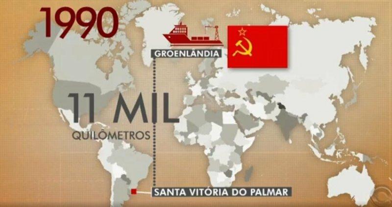 Бутылку, которую однажды распили советские моряки, нашли в Бразилии